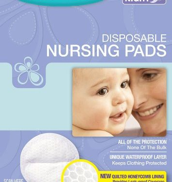 How many nursing pads pairs are enough per day?