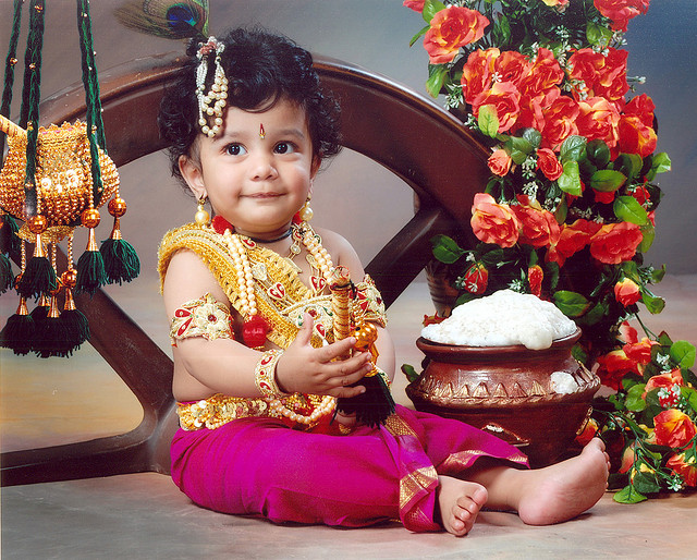 Fancy dress krishna pictures for colouring
