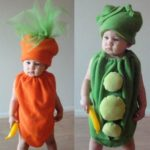Fancy Dress Ideas for kids vegetables with letters a to z