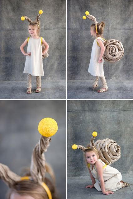 fancy dress ideas under the sea animals snail  sc 1 st  Mother Care & Fancy Dress Ideas For Kids-Water Animals u0026 Under The Sea | Me u0026 Mom ...