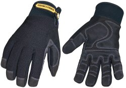 Waterproof Heavy Duty Work Gloves For Winter Leather Insulated