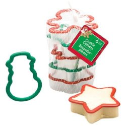 3D Christmas Cookie Cutter Set Star Gingerbread Tree Snowflake