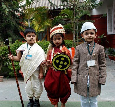 Fancy Dress Ideas for Kids-Republic Day India 26 January