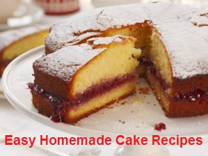 Easy & Quick Homemade Sponge Cake Recipe