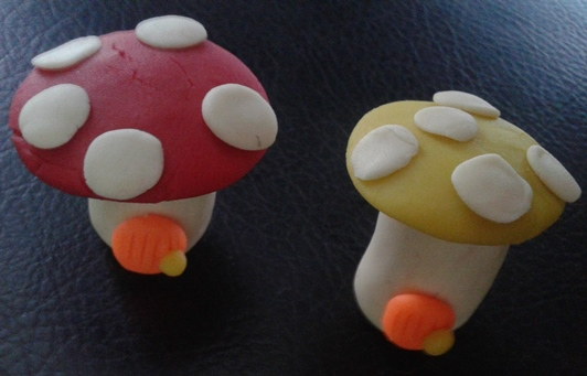How To Make Mushroom Clay Modelling Kids Craft Project
