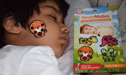 FeverMates Review-Stick-on Fever & Temperature Indicator