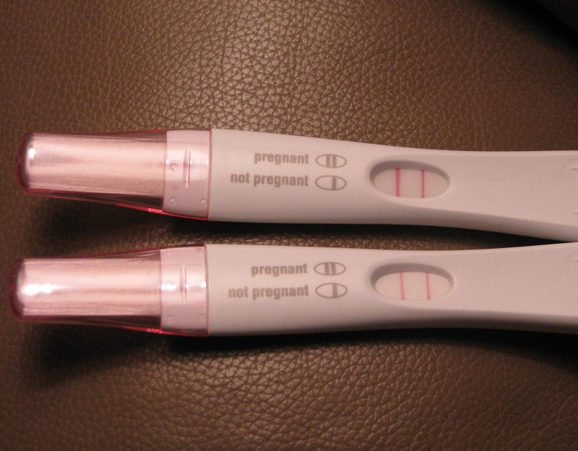 pregnancy test is positive what to do next